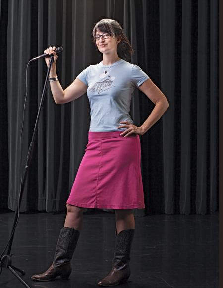 Poet Karen Finneyfrock is queen of the spoken word.