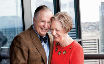 Charlie and Benita Staadecker share a love for funding new art, including a Seattle Symphony premiere this month