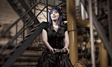 Time Bandit: Writer Cherie Priest is building a future on the past