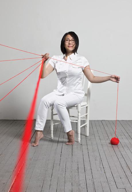 Diem Chau uses ordinary objects to create extraordinary art.