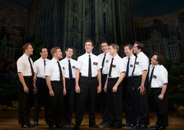 These are not the Mormons you will see at the Paramount (different cast).