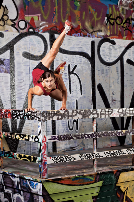 Dancer Ellie Sandstrom takes moving and shaking to the max.