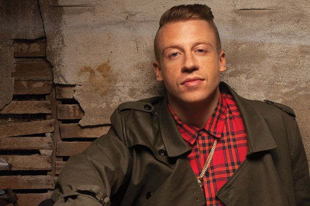 Seattle rapper Macklemore (aka Ben Haggerty)